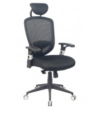 VIVA OFFICE High Back Mesh Chair, Ergonomic Office Chair, Desk Chair with Adjustable Arms and Seat