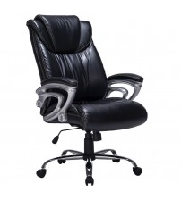 VIVA OFFICE Comfort High Back Bonded Leather Office Executive Chair with Thick Padded Headrest, Backrest and Seat VIVA0505L-1