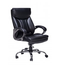 VIVA OFFICE High Back Thick Padded Bonded Leather Office Managerial Chair VIVA0951L