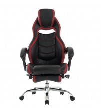 VIVA OFFICE Fashionable High Back Office Chair, Racing Style Gaming Chair with Recliner