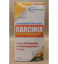 Applied Nutrition GARCINIA 1200 mg Body Fat Reduction Diet 40 Tablets Exp 09/17 JCK 1725