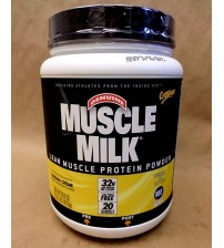 CytoSport Muscle Milk BANANA CREME 32 g Lean Protein 1.93 lb Exp 08/17 SEALED OTC 1513