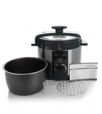 Wolfgang Puck 5 qt Automatic Rapid Pressure Cooker with 44 Recipes Factory Refurbished