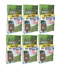 Grassology Grass Seed Ultra Low Maintenance Case of 6 3 lb Bags As Seen on TV ASTV 10000
