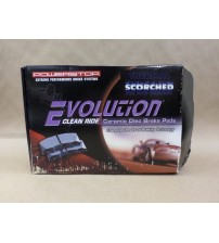 Power Stop Z16 Evolution Ceramic Brake Pads 16-965 Shims Not Included Brand New AUTO 82