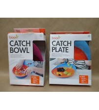 Boon Catch Bowl and Plate with Spill Catcher for Toddlers 9m+ BPA Free Brand New BABY 237