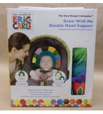 Eric Carle Head Support Grow With Me Double 2 Sizes Very Hungry Caterpillar New BABY 518
