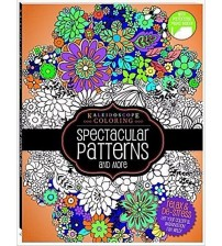 Kaleidoscope Coloring Spectacular Patterns and More Relaxing Coloring Book New HOME 10041
