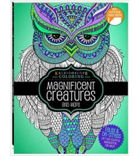 Kaleidoscope Coloring Magnificent Creatures and More Relaxing Adult Coloring Book