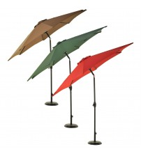 Grand Patio Patio Umbrella 9FT Aluminum with Crank and Tilt Choose Your Color OUT 5112