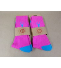 Adrenaline Confidential Lacrosse Socks One Size In Pink and Blue Lot of 2 New SGA 755