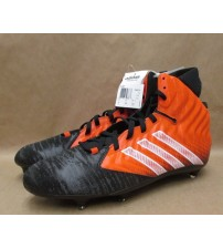 Adidas Football Molded Cleats Filthyquick D Orange and Black Mens Size 16 New SGS 116