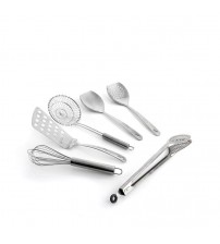 Wolfgang Puck Bistro Elite 6-piece Stainless Steel Kitchen Tool Set
