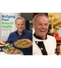Wolfgang Puck Assorted Cookbooks With Hundreds Of Different Recipes