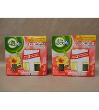 Air Wick Island Paradise Double Fresh Warmer and 2 Refills Lot of 2 Brand New AIR 102