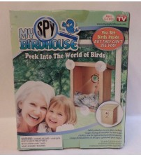 My Spy Birdhouse Two Way Mirror Film Safely Attaches As Seen On TV Easy View New