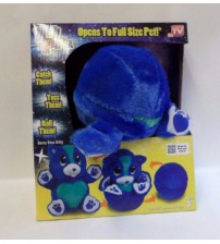 Ball Pets Berry Blue Kitty Plush Stuffed Animal Toy Cat As Seen On TV Ages 3 Up ASTV 303