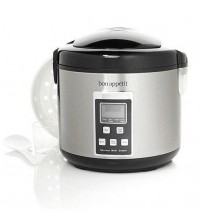 Bon Appetit 10 Cup Slow Cooker with Steamer Available in Various Colors Factory Refurbished