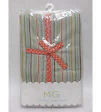 MiGi by Bananafish Diaper Stacker Little Circus Collection Striped Brand New