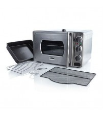 Wolfgang Puck Countertop Pressure Oven With Pizza Screen Stainless Steel Factory Refurbished