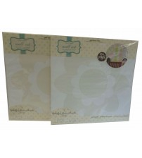WallPops Flower Butterfly Silhouette Decals In Ivory Peel Easy Stick Lot Of 2 BABY 660