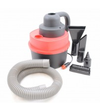 12V Wet Dry Vacuum Cleaner Portable Hand Held Car or Shop Vac with Inflator CLN 10006