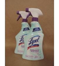 LYSOL Kitchen Cleaner Antibacterial Grease Cleaner Citrus Fresh 22oz 2 Pack