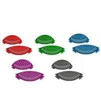 Silicone Pot and Pan Strainers with Clips