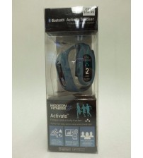 Activity Tracker Wrist Band by Modern Fitness Activate Fitness Blue Brand New ELEC 696