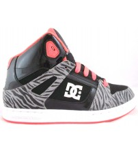 DC Rebound SE J Fluorescent High Top Skate Shoe Youth Sizes Brand New In Box JSL 1155