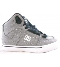 DC Spartan High TX SE Grey Skate Sneakers For Youth Sizes 12 Brand New In Box JSL 1321