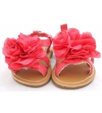 Sarah Jayne Lil Flower Coral Infant Girl Sandals Choose Your Size New In Box