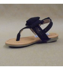 Not Rated Black Junbow Girls and Women T Strap Sandals Choose Your Sizes New