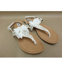 Not Rated Sandals Junbow White Girls and Womens Choose Your Sizes T Strap New