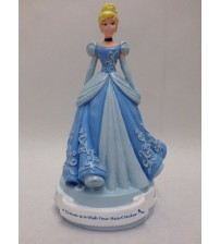 Disney Cinderella Figurine Hand Painted 8 In A Dream is a Wish Your Heart Makes KIDS 266