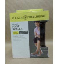 Gaiam Foot Massage Roller Restore Hot Cold Soothes Plantar Fasciistis Brand New