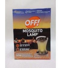 OFF Mosquito Lamp Refillable Deffuser and Candle 10 ft x 10 ft Protection New OUT 148