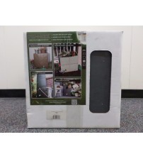Build A Barrel 100 Gallon Rain Barrel Tank And Diverter Kit in Gray Brand New OUT 5125