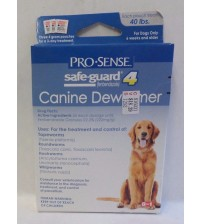 Pro Sense Canine Dewormer Safe Guard 4 Three Day Treatment 40 Lb 12/17 +
