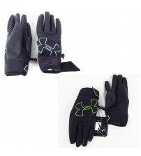 Under Armour Gloves Youth ColdGear Infrared Storm Gusto Added Grip Sz Med to L SPRT 476