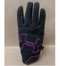 Under Armour Gloves Youth ColdGear Infrared Storm Gusto Added Grip Size Medium SPRT 500