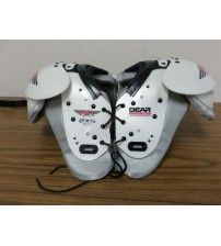 Air Tech Jr Football Shoulder Pads 40 to 65 LBS Protective Gear Non Stretch New SPRT 5032