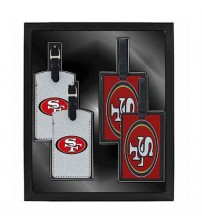 Aminco Sports His And Hers Travel Gift Set Colorful San Francisco Logo 4 Piece TRAV 5018