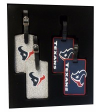 Aminco Sports His And Hers Travel Set 4 Piece Colorful Team Logo Houston Texans TRAV 5026
