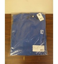 DC Big Sleeve TB Mens Blue and White Zip Up Hoodie Size Medium Brand New WEAR 521