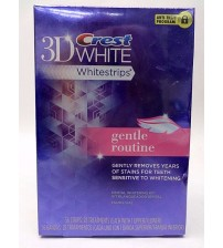 Crest 3D White GENTLE ROUTINE 56 Strips 28 Treatments Exp 10/17 + SEALED