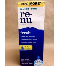 Bausch Lomb RE NU Multi Purpose Solution All Day Moisture 12 fl oz Exp 10/17 + TMP 272