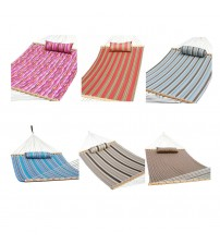 Prime Garden Quilted Fabric Hammock Pillow Wood Spread Bars Choose Your Color OUT 5082