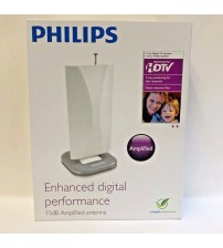 Philips Amplified Antenna Enhanced Digital Performance 15dB 2 Way Positioning