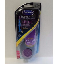 Dr Scholls Heel Pro Pain Relief Orthotics Womens Size 5 To 12 Plantar Fasciitis  SOLE 254